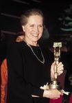 Liv Ullmann, hier mit dem Deutschen Videopreis 2002 in München