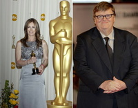 Neu im Board of Governors der Academy of Motion Picture Arts and Sciences: Kathryn Bigelow und Michael Moore