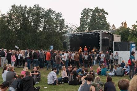 Feierten im Rhododendronpark Bremen: Besucher des Horn To Be Wild Festivals 2016