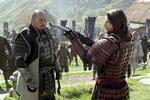 """Als einziger Nichtamerikaner bzw. Brite nominiert: Ken Watanabe (l.), Tom Cruises Filmpartner in """"Last Samurai"""""""