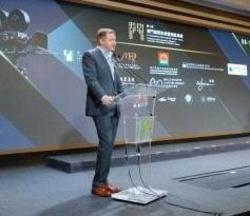 Mike Goodridge bei seiner Vorstellung als Künstlerischer Leiter des International Film Festival & Awards Macao (IFFAM)