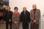 Die Ehrengäste: Vilmos Zsigmond, Christiane Kubrick, Dante Ferretti und Tom Rolf (v.l.)