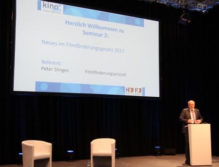 FFA-Vorstand Peter Dinges erläuterte in Karlsruhe unter anderem seine Vorstellungen für künftige Leitlinien der FFA-Förderung
