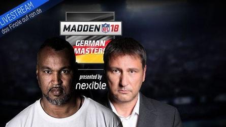 """Patrick Esume und Roman Motzkus kommentieren die """"Madden"""" German Masters auf ran.de"""