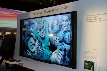 Immer mehr Filme können auf 4k-Fernsehern angeschaut werden
