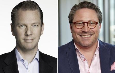 Dr. Stephan Zoll (l.) und sein Nachfolger Stefan Wenzel