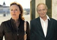 """Eleonore Weisgerber (hier in der ARD-Reihe """"Pfarrer Braun"""") und Charles Dance (auf dem Filmfest München) führen den internationalen Cast an"""