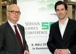 Richteten ein erfolgreiches Comeback aus: Thomas Schäffer, Geschäftsführer Nordmedia, und Dr. Maximilian Schenk, Geschäfstführer BIU