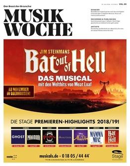 Jetzt online lesen: MusikWoche Vol. 29/2018