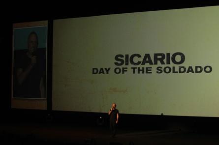 "Noch vor Beginn der Studiocanal-Tradeshow präsentierte Stefano Solima ""Sicario 2"""