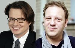 Philipp Kreuzer (l.) und J�rg Schulze haben die Produktionsfirma Maze Pictures gegr�ndet