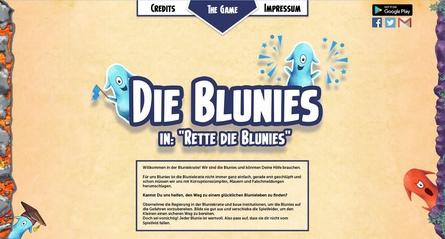 """""""Rette die Blunies"""" gibt es kostenlos im Netz und in Googles Play-Store"""