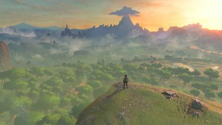 """Auf Switch längst bei Platin angelangt holte Nintendos """"The Legend of Zelda: Breath of the Wild"""" nun den wahrscheinlich letzten Sales Award in Gold für die Wii U"""