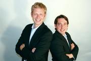 Rainer Bruns und Justus Peter, Geschäftsführer von Pandastorm Pictures