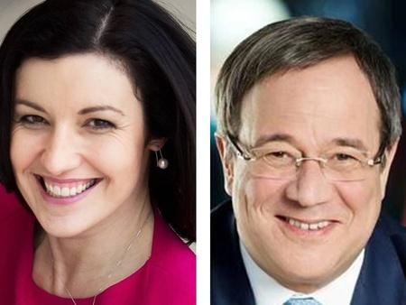 Dorothee Bär und Armin Laschet (r.) sind die politische Ehrengäste der gamescom 2018.