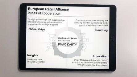 MediaMarktSaturn und Fnac Darty kooperieren bei der European Retail Alliance zunächst in vier Kernbereichen