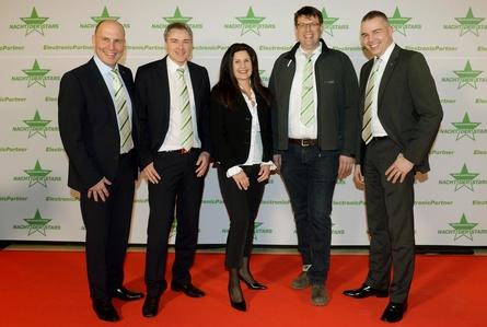 Der neugewählte EP-Aufsichtsrat (v.l.): Fred Pahl, Ralf Deuber, Jacqueline Posner, Kristof Loll und Thomas Meißner