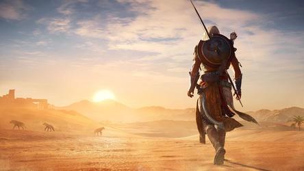 """Verkaufte sich in Deutschland über alle Plattformen über 500.000 mal: """"Assassin's Creed Origins"""""""