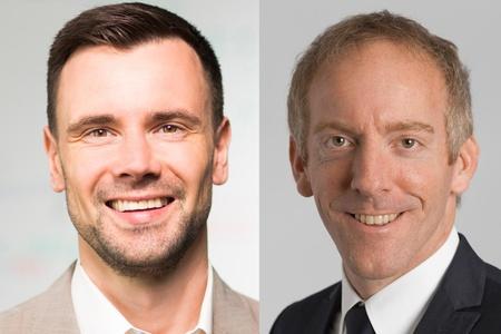 Felix Falk (BIU) und Tim Endres (Koelnmesse; v.l.)