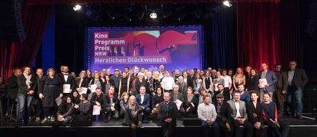Die Gewinner der Kinoprogrammpreise NRW mit den Preispaten