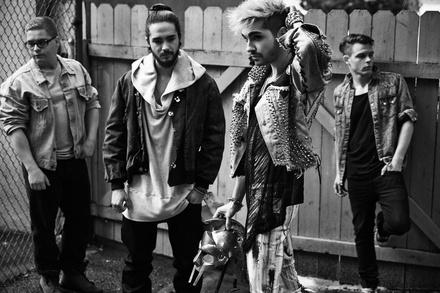 2017 wieder live unterwegs: Tokio Hotel (Bild: Lado Alexi)