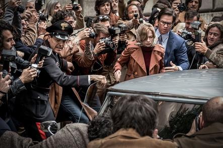 """Ab 15. Februar in den deutschen Kinos: Ridley Scotts Entführungsthriller """"Alles Geld der Welt"""" (Bild: Claudio Iannone / Tobis)"""