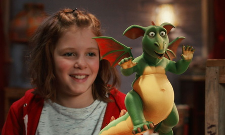 """Ab 9. November in den deutschen Kinos: """"Hexe Lilli rettet Weinachten"""" (Bild: Universum Film (Walt Disney))"""