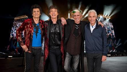 Arbeiten auch weiterhin mit Universal Music, Bravado und Eagle Rock zusammen: die Rolling Stones Ronnie Wood, Mick Jagger, Keith Richards und Charlie Watts (Bild: Dave Hogan)