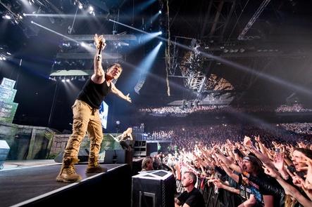 Attraktion für Massen von Fans: Iron Maiden live (Bild: John McMurtrie)