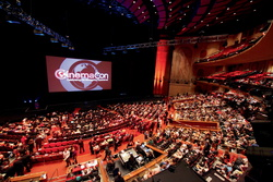 Auf der CinemaCon enthüllt Sony seine Kino-Laserprojektoren (Symbolbild) (Bild: Ryan Miller/Capture Imaging)