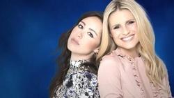 """Aurora Ramazzotti und Michelle Hunziker in der italienischen """"Wetten, dass ...?""""-Version (Bild: Mediaset)"""