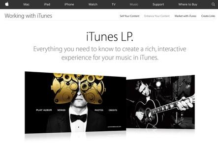 Auslaufmodell: Apple will ab Ende März keine neuen iTunes LPs mehr in den Downloadshop stellen (Bild: apple.com, Screenshot)