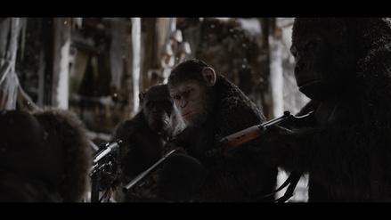 """Begeisterte erst die Kritik und jetzt das Publikum: """"Planet der Affen: Survival"""" (Bild: Fox)"""