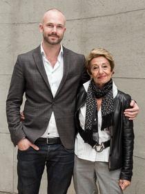Bei Probst (EFM Präsidentin) und Matthijs Wouter Knol (EFM Director) (Bild: EFM / Ali Ghandthschi)