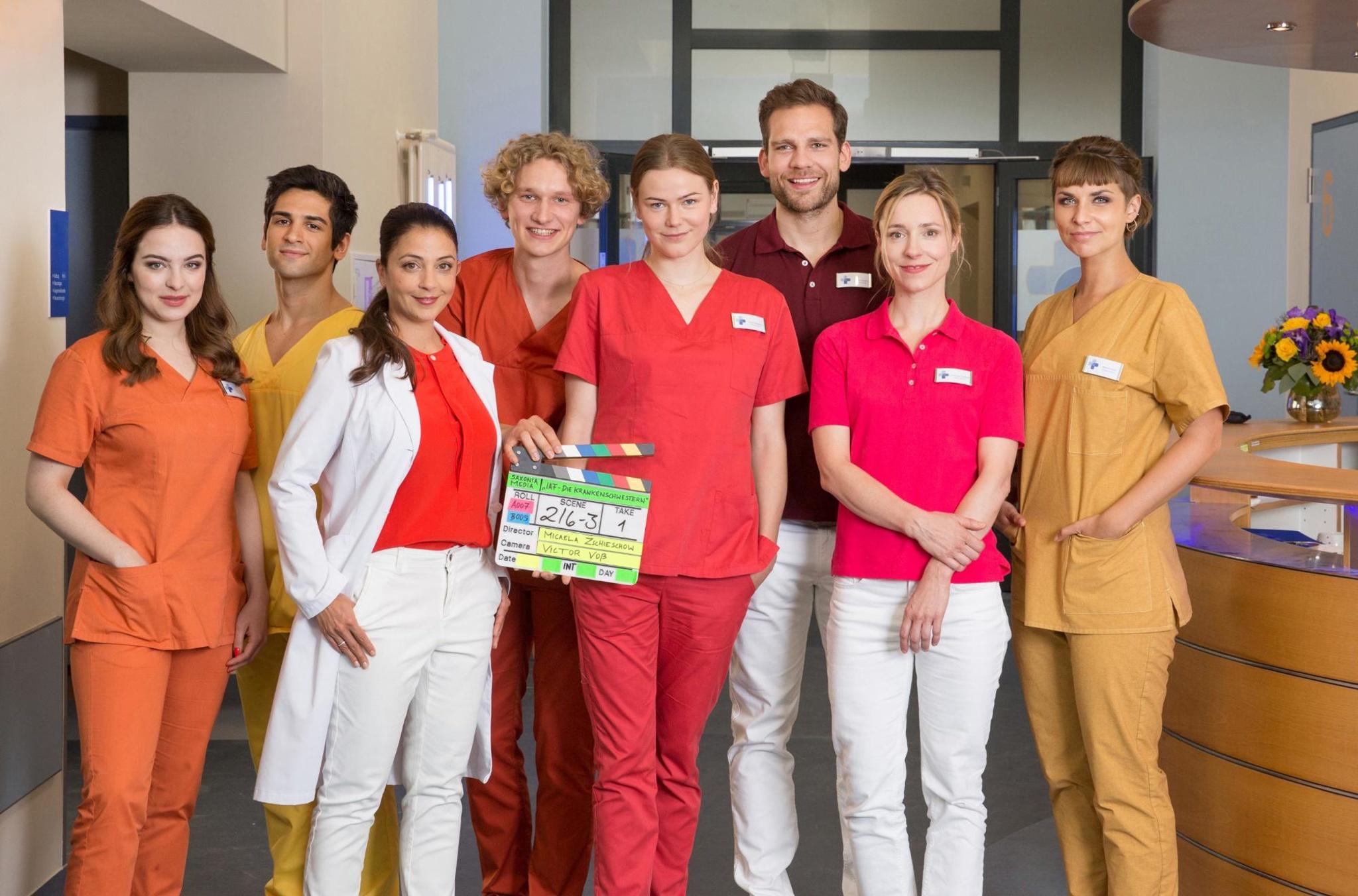 Die Krankenschwestern