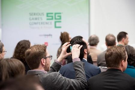 Besucher auf der Serious Games Conference. (Bild: SGC/nordmedia)