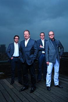 Bilden die BB-Geschäftsführerriege (v.l.n.r.) Jörn Meyer, Ralf Kokemüller, Andree Kauschke und Matthias Mantel (Bild: Thommy Mardo)
