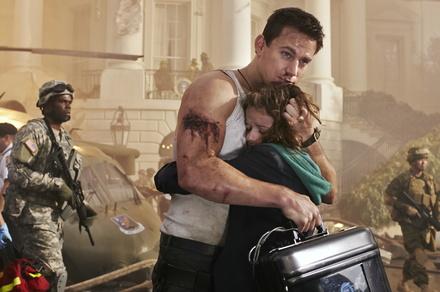 """Bleibt auf Platz eins: """"White House Down"""" mit Channing Tatum und Joey King (Bild: Sony Pictures)"""