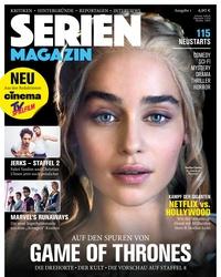 """Cover der ersten """"SerienMagazin""""-Ausgabe (Bild: Burda Medien)"""