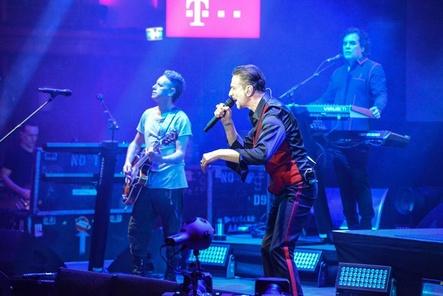 """Depeche Mode präsentierten ihr neues Album """"Spirit"""" in Berlin (Bild: Heiko Meyer)"""