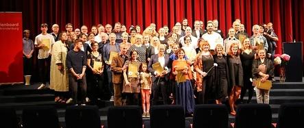 Die Gewinner der Kinoprogrammpreise Berlin-Brandenburg (Bild: Medienboard Berlin-Brandenburg)