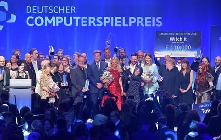Die Gewinner des DCP 2018 (Bild: Getty Images/Quinke Networks/DCP)