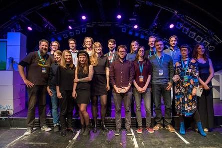Die Jury und Laudatoren der Creative Gaming Awards auf der PLAY17 (Bild: Bente Stachowske/jaf e.V. 2017)