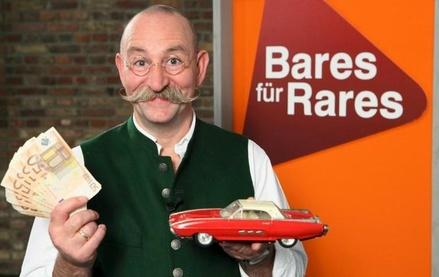 """Einer der beständigsten Quotengaranten des ZDF: """"Bares für Rares"""" mit Horst Lichter (Bild: ZDF)"""