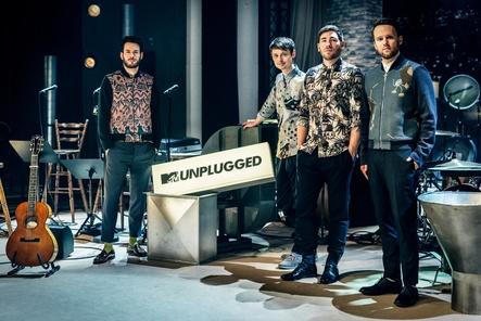 """Entfachen große Vorfreude auf ihre """"MTV Unplugged-""""Tour: Revolverheld (Bild: Tim Kramer)"""