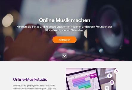 Ermöglicht Musikproduktion und Austausch über die Cloud: Soundtrap (Bild: screenshot, soundtrap.com)