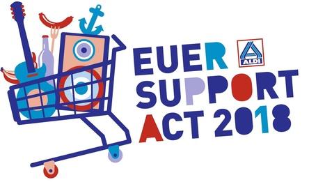 """""""Euer Support Act"""": Unter diesem Motto versorgt Aldi die Festivalbesucher (Bild: Aldi Nord)"""