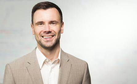 Felix Falk, Geschäftsführer des game, im Interview (Bild: Dirk Mathesius)