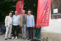 FFF-Geschäftsführer Klaus Schaefer, Drehbuchautor Fred Breinersdorfer, Schauspieler August Zirner und Markus Aicher (Bild: Festival)