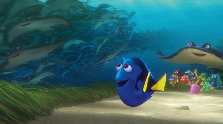 """""""Findet Dorie"""" dürfte bis Sonntag wieder Platz eins erobern (Bild: Walt Disney)"""